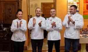 Шеф-повар ресторана «Кабинет» — в команде лучших поваров России