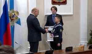 Торжественная церемония вручения паспортов состоялась в правительстве области