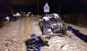 В ДТП на Талажском шоссе погибла женщина