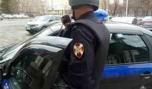 В Архангельске наряд Росгвардии задержал злостную неплательщицу алиментов