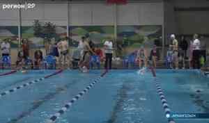 В Архангельске прошли соревнования по плаванию среди особых детей