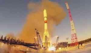 Скосмодрома «Плесецк» всреду совершили пуск ракеты-носителя «Союз 2.1б»