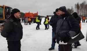 Участника форума «Свободные люди» не пускали на площадку у станции Шиес — там разгружали уголь