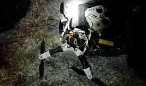 Осужденным вКоряжме пытались передать телефоны при помощи квадрокоптера