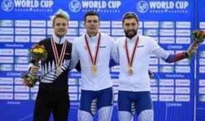Архангельский конькобежец завоевал золото и бронзу на четвертом этапе Кубка мира