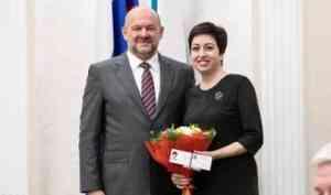 Депутат гордумы Лидия Коржева - общественный представитель губернатора Архангельской области
