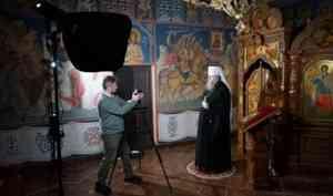 Видеопоздравление митрополита Корнилия с Рождеством Христовым северяне увидят 6 и 7 января