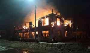 В Котласе сгорел частный музей Сталина