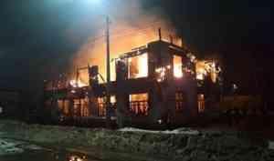 В Архангельской области этой ночью сожгли… Сталина