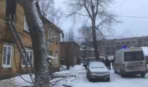 Два человека погибли при пожаре в жилом доме Архангельска
