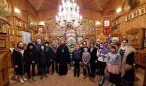 Православные добровольцы на святках поздравили воспитанников северодвинского детского дома