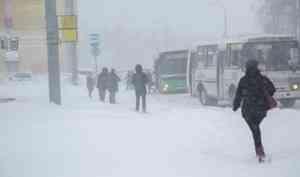 ВАрхангельске прогнозируют ухудшение погоды