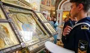 ВНИМАНИЕ! Изменился график пребывания главной иконы ВМФ в Архангельской епархии