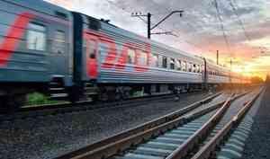 В Архангельской области произошло больше всего ЧП с пострадавшими на железной дороге