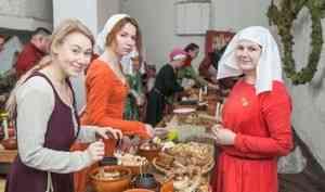 Европа, Скандинавия и Русь встретились в Архангельске на зимнем пире