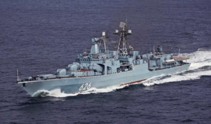 БПК Северного флота «Вице-адмирал Кулаков» завершил деловой заход вгреческий Пирей