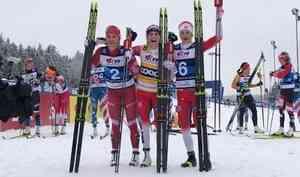 Лыжники, представляющие Архангельскую область, взяли две медали на Кубке мира в Чехии