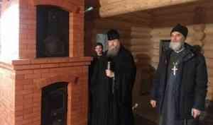 Митрополит Корнилий посетил архангельское подворье Артемиево-Веркольского монастыря