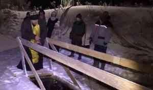 Православные северяне отметили один изглавных церковных праздников— Крещение Господне