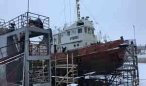 В корабельной стороне Архангельска загорелось судно «Выборг»