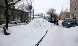 Глава Архангельска раскритиковал работу подрядчика по уборке города