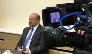Live: пресс-конференция губернатора Поморья Игоря Орлова