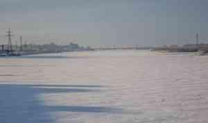 В Архангельске прогнозируют нагонное повышение уровня воды