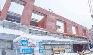 В Архангельске строят дома… ручной работы