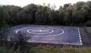 Жительница Архангельской области разместила на сельхозземлях вертолетную площадку