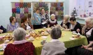 Рукодельницы новодвинского клуба «Нить Ариадны» научили людей с инвалидностью своему ремеслу