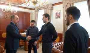 Нариман Казимагамедов встретился с представителями Открытого молодежного правительства Республики Дагестан