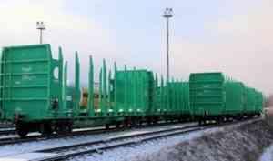 В парк компании «Архбум» поступит 25 тихвинских платформ для перевозки леса