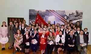 В Архангельской области ветераны подразделений Росгвардии продолжают участие в патриотической акции, посвящённой 75-летию Победы в Великой Отечественной войне