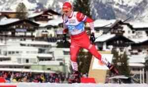 Александр Большунов - победитель скиатлона на этапе Кубка мира в Германии
