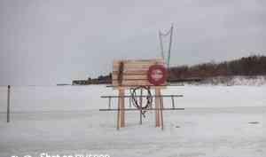 В Архангельской области открыта 51 ледовая переправа