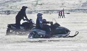 Безработный житель Архангельска угнал снегоход