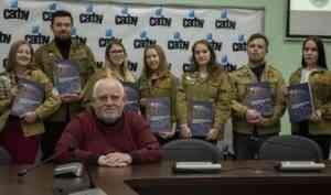 В областном центре презентовали второй том книги о студенческих отрядах Поморья