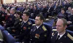 В Мирном подвели итоги конкурса «Офицер года»