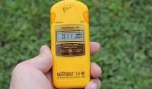 Власти Северодвинска подтвердили незначительное повышение радиационного фона