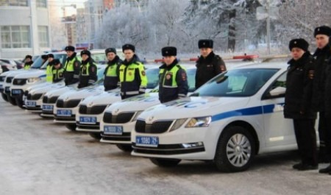 В Госавтоинспекцию Архангельской области поступили 70 новых патрульных машин