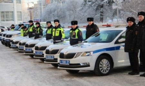 Архангельская область получила 70 новых патрульных автомобилей для ГИБДД