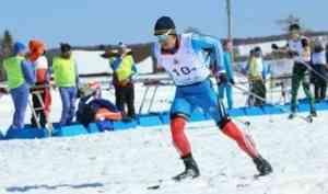 Алексей Шемякин - золотой призер чемпионата СЗФО России по лыжным гонкам