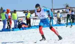 Алексей Шемякин стал золотым призером чемпионата СЗФО России по лыжным гонкам