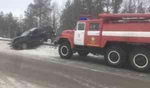На трассе Архангельск-Северодвинск в ДТП погиб человек