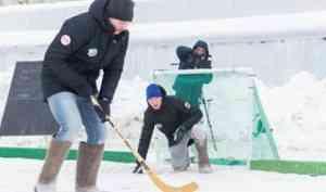 Участники спартакиады «Начни с себя - 2020» сыграют в хоккей на валенках