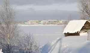 Семья на снегоходе провалилась под лёд на реке Кузнечихе в Талагах