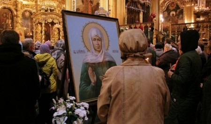 В Архангельск привезут мощи Матроны Московской и частицу Пояса Богородицы