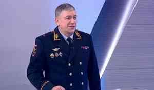 Эксклюзивное интервью начальника Управления МВД России поАрхангельской области— Александра Прядко