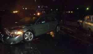 Один человек погиб, пятеро пострадали в утреннем ДТП в Северодвинске
