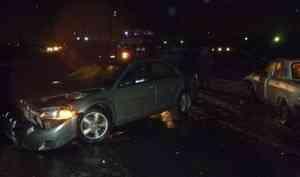 Водитель «Лады-Калины» погиб после столкновения его машины с «Опелем-Астра» в Северодвинске